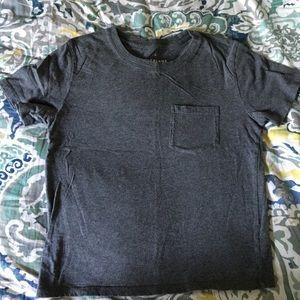 Everlane gray pocket T-shirt Sz XS